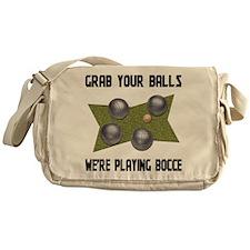 Bocce Messenger Bag
