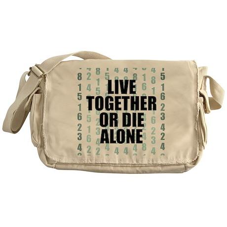 LOST Live Together Messenger Bag