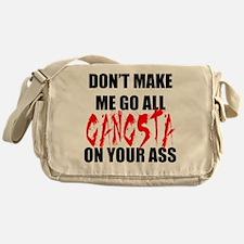 All Gangsta Messenger Bag