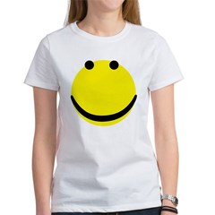 smiley face Women's T-Shirt