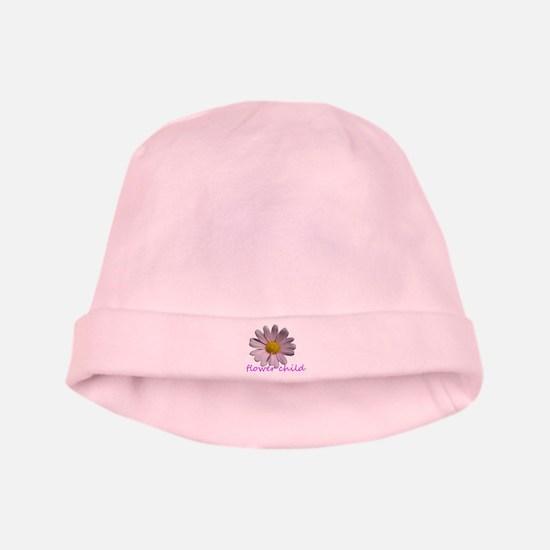 Flower Child baby hat