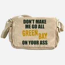 Green Bay Football Messenger Bag