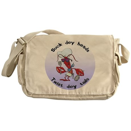 Cajun Crawfish Messenger Bag