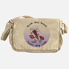 Cajun Crawfish Messenger Bag