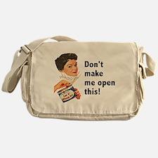 Can of Whoop-Ass Messenger Bag