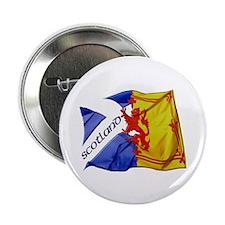 "Scotland Football Fashion 2.25"" Button (10 pack)"