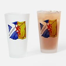 Scotland Football Fashion Drinking Glass