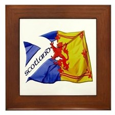 Scotland Football Fashion Framed Tile