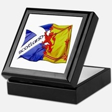 Scotland Football Fashion Keepsake Box