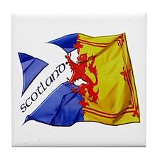 Scotland Football Fashion Tile Coaster