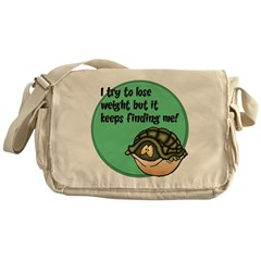 How To Lose Weight Messenger Bag