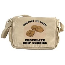 Comfort Chocolate Chip Cookie Messenger Bag