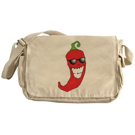 Cool Chili Pepper Messenger Bag