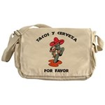 Tacos y Cerveza Messenger Bag