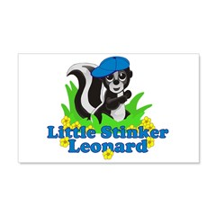 Little Stinker Leonard 22x14 Wall Peel