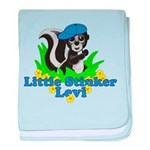 Little Stinker Levi baby blanket
