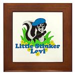 Little Stinker Levi Framed Tile