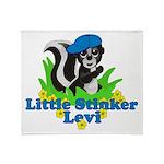 Little Stinker Levi Throw Blanket