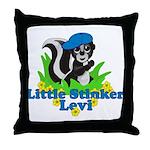 Little Stinker Levi Throw Pillow
