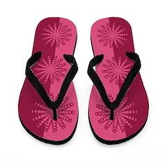 Spirofunk Pink Flip Flops