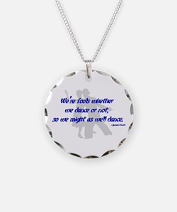 Swing Dance Fools Necklace