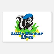 Little Stinker Liam Decal