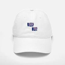 WOOF HUNT_VIOLET_BLUE_MOSAIC Baseball Baseball Cap