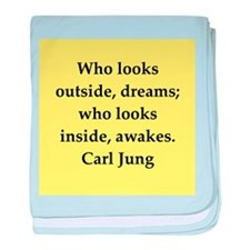 Carl Jung quotes baby blanket
