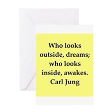 Carl Jung quotes Greeting Card