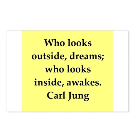 Carl Jung quotes Postcards (Package of 8)