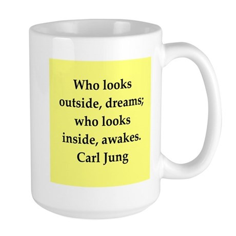 Carl Jung quotes Large Mug