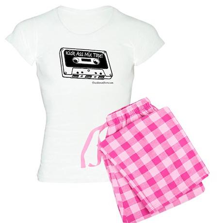 Kick ass mix tape Women's Light Pajamas