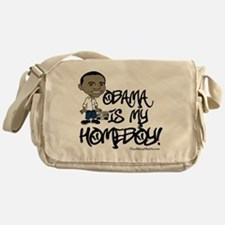 Obama is my Homeboy! Messenger Bag
