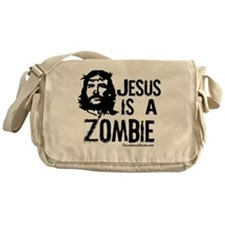 Jesus is a Zombie Messenger Bag