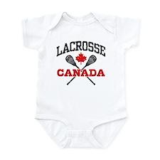 Canadian Lacrosse Infant Bodysuit
