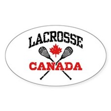 Canadian Lacrosse Decal
