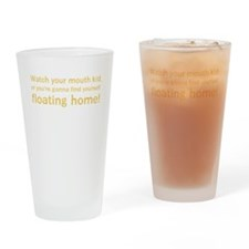 Floating Home - Yellow Drinking Glass