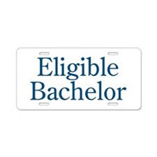 Eligible Bachelor Aluminum License Plate
