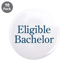 """Eligible Bachelor 3.5"""" Button (10 pack)"""