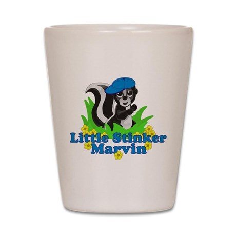 Little Stinker Marvin Shot Glass