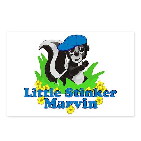Little Stinker Marvin Postcards (Package of 8)