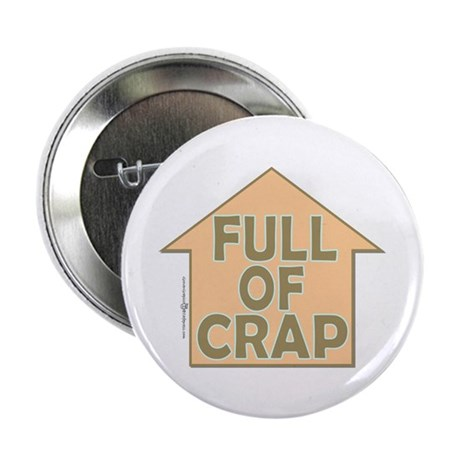 Grover Graphics - Full of Cra Button