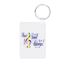 Music in the Soul Keychains