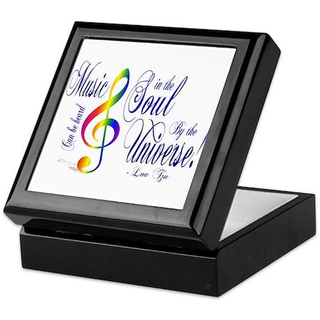 Music in the Soul Keepsake Box