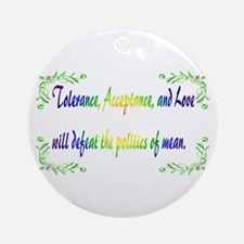 Tolerance Ornament (Round)