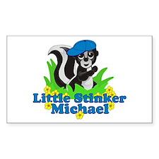 Little Stinker Michael Decal