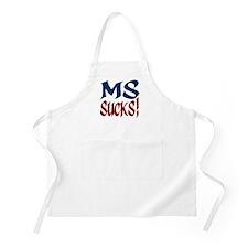 MS Sucks! BBQ Apron