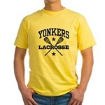 Yonkers Lacrosse Yellow T-Shirt