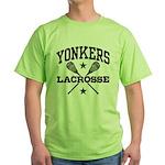 Yonkers Lacrosse Green T-Shirt