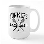 Yonkers Lacrosse Large Mug